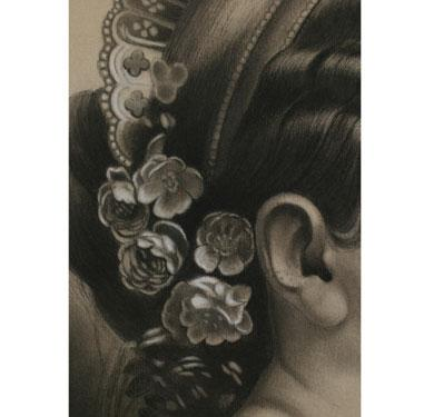 PANDORA, c. 1890 Charcoal heightened with white 26...