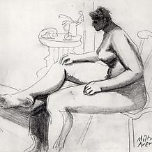 Seated Nude, c. 1938