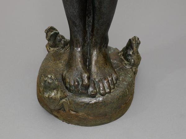 SWIMMIN' FOUNTAIN, 1907 Bronze 39 x 8 x 10 inc...