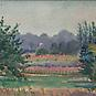 APPLE ORCHARD, c. 1925Watercolor on paper7 3/4