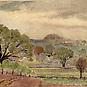 IN NEW YORK STATE, c. 1925Watercolor on paper3
