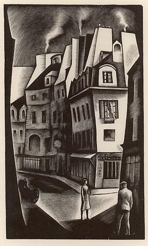 PARIS STREET, 1930