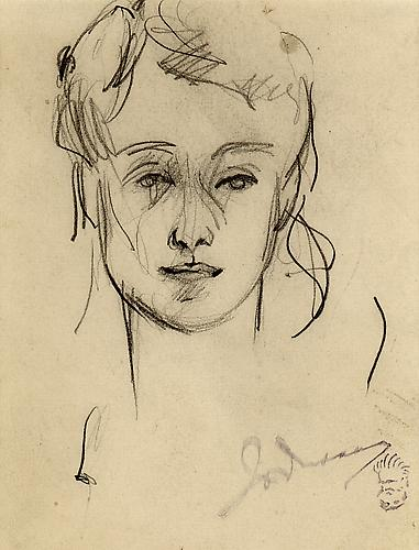 SKETCH OF CLAIRE BOOTH LUCE