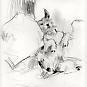 PLAYFUL DOG, c. 1925