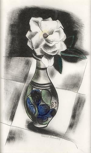 FLOWERS IN A VASE, 1927