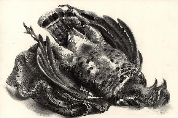 GROUSE, 1939 Lithograph 9 x 12 7/8 inches Edition:...