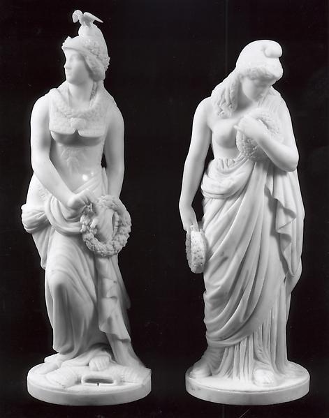 AMERICA TRIUMPHANT, 1866-67 Marble J.H. HASELTINE....