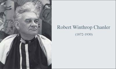 """MODERN AND STRANGE"": ROBERT WINTHROP CHANLER�..."