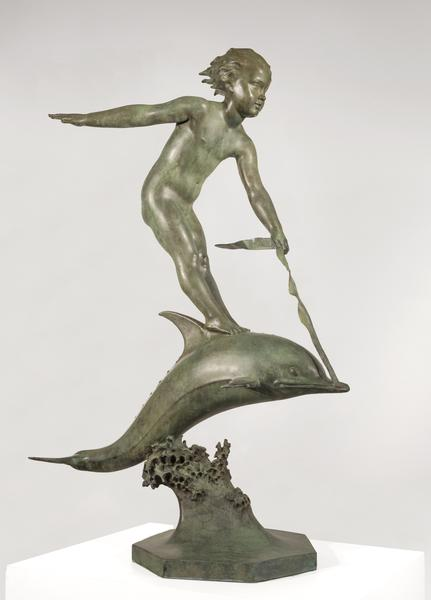 OVER THE WAVES, 1931 Bronze 48 x 31 1/4 x 17 1/4 i...