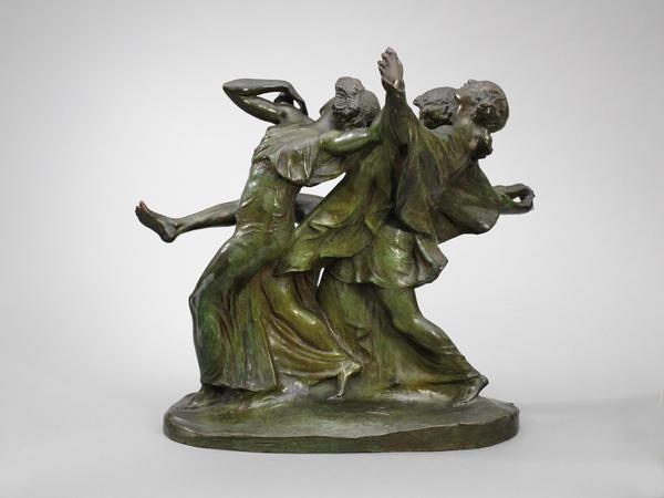 ALLEGRO (also CHILDREN DANCING), 1914 Bronze 16 x...