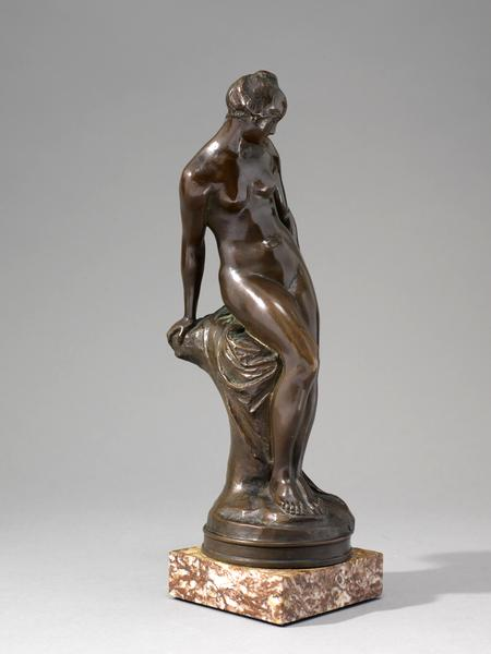 THE BROOK, 1901 Bronze on original marble base 11...