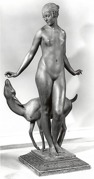 ISOULT, 1926 Bronze 83 x 49 x 29 inches Signed: Ed...
