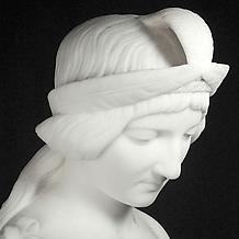 POCAHONTAS, modeled c. 1850, carved 187?