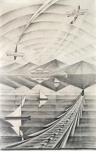 MIRROR LAKE, LAKE PLACID, NEW YORK, 1927