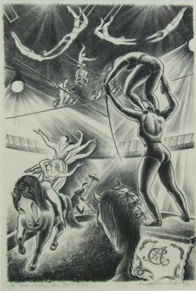 WE SHALL ALWAYS LOVE THEM, 1937 Lithograph 14 x 9...