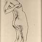 STANDING FEMALE NUDE, c. 1927