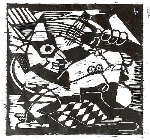 CLOWN (HARLEQUIN), c. 1937