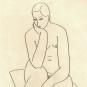 SEATED NUDE, 1928