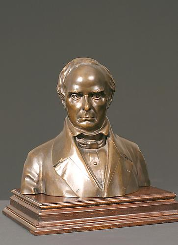 DANIEL WEBSTER: PROOF CAST, c. 1853Bronze on sep