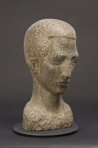 YOUNG MAN (HEAD OF A POET)