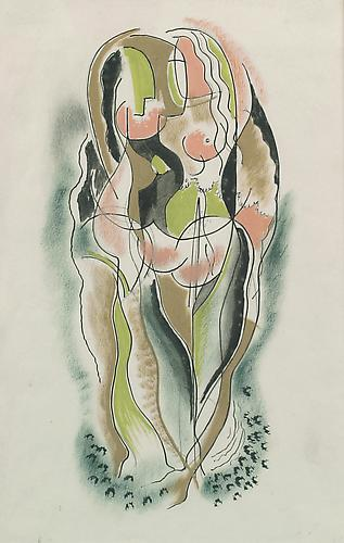 TWO NUDES, c. 1950