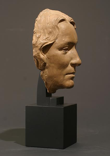 MASK OF AILSA MELLON BRUCE, 1927 Terra-cotta 8 3/4...