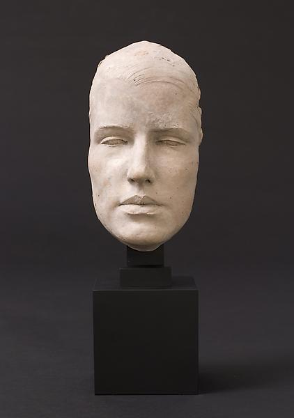 MASK OF ELIZABETH LAROQUE, 1926 Terra-cotta 8 3/8...