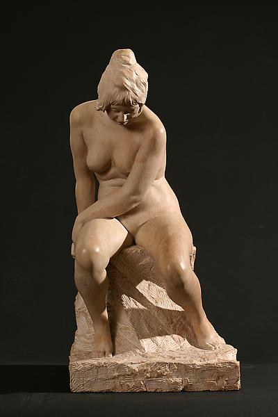 SEATED NUDE (also France 1939), 1939 Burgundy Lime...