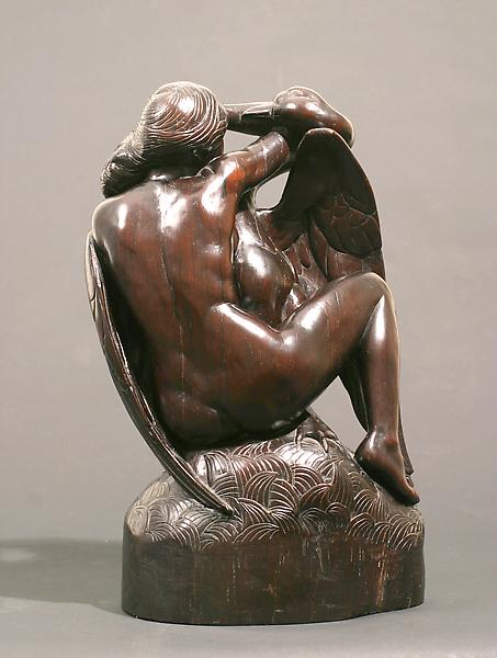 LEDA, also LEDA AND THE SWAN, 1921 Mexican Rosewoo...