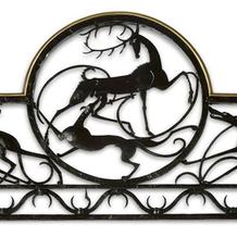 STAG AND HOUND BALCONY RAILING