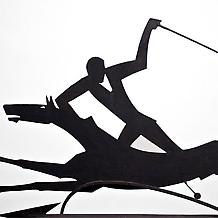 POLO PLAYERS WEATHERVANE