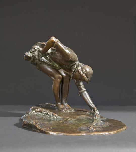 SEA TREASURES, Modeled 1911, cast 1913 Bronze 10 x...
