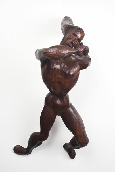 AVENGING ANGEL II, 1940–41 Walnut 27 3/8 x 1...