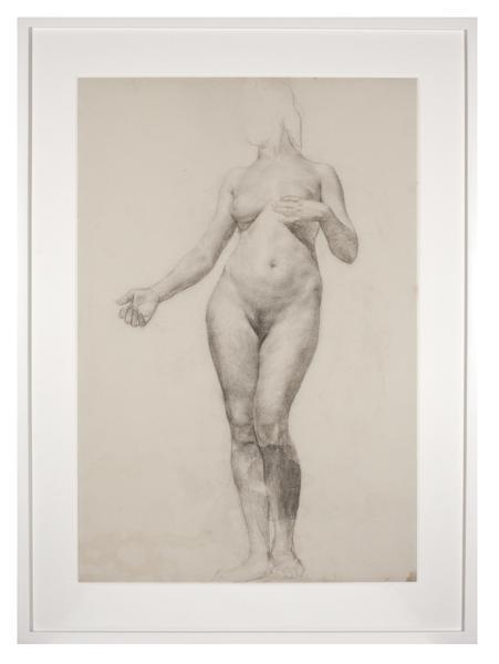 ÉCOLE des BEAUX-ARTS: FEMALE FIGURE, FRONT...