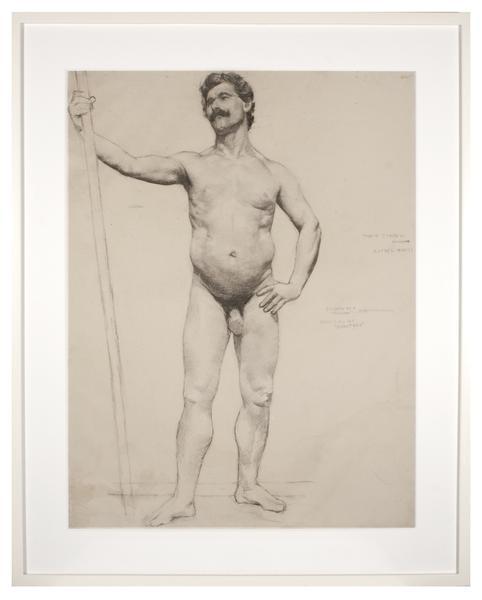 ÉCOLE des BEAUX-ARTS: RAFAEL MONTI, c. 1885...