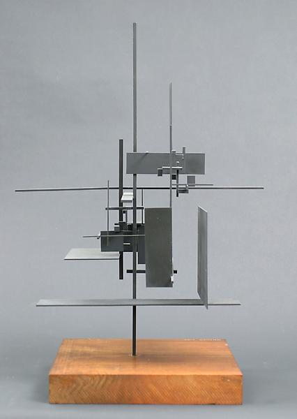 CONSTRUCTION #7, 1955 Painted steel construction o...