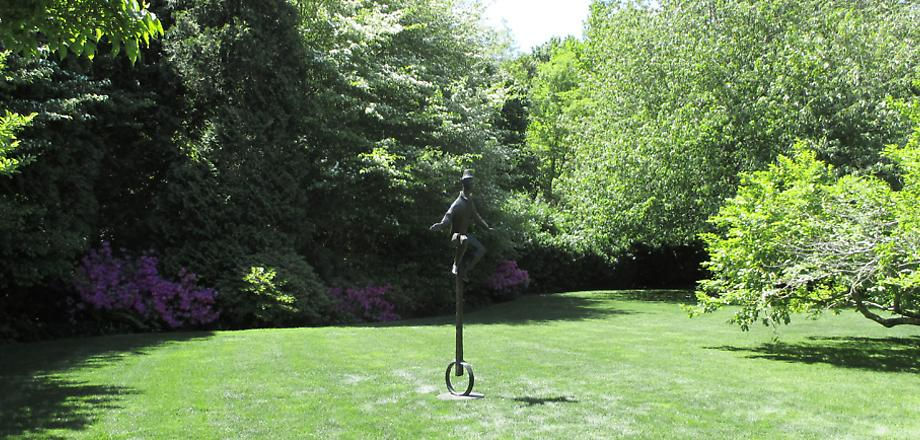 Chaim Gross (1994) THE UNICYCLIST, 1974-75 Bronze...