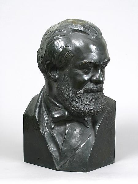 JO DAVIDSON, 1934 Bronze 17 1/2 x 9 1/2 x 10 3/4 i...