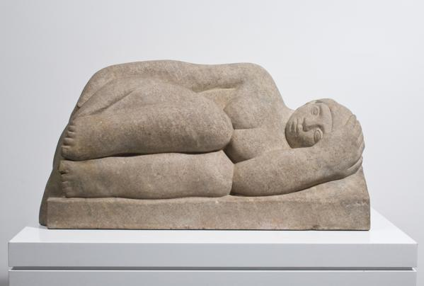 DAYDREAMING (also RECLINING GIRL), 1936 Tennessee...