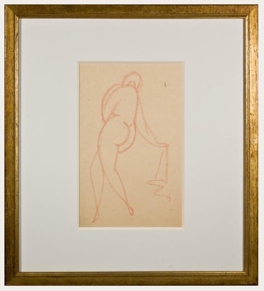 Gaston Lachaise (American, 1882-1935) NUDE, c. 191...