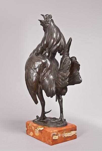 CHANTICLEER, 1912 Bronze on original marble base 1...