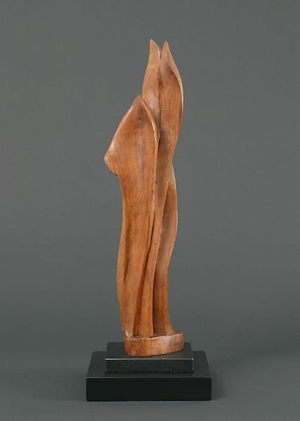 PLANT FORM, c. 1917 Wood on separate wood base 19...