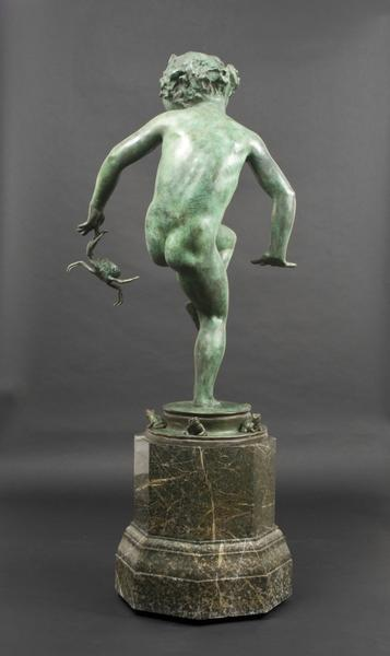 OUCH: A FOUNTAIN, 1923 Bronze on original marble b...