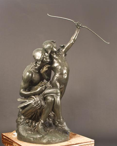 THE SUN VOW, 1899 Bronze 72 x 32 1/2 x 54 inches S...