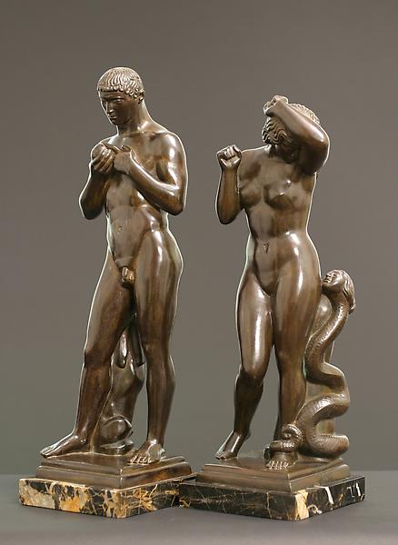 ADAM, 1924 Bronze 17 3/4 x 6 x 4 5/8 inches Signed...