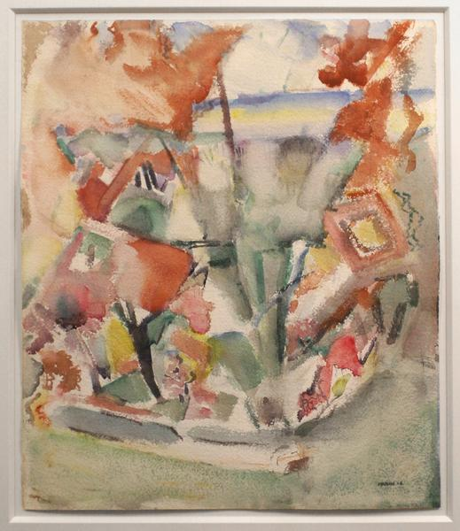 UNTITLED, 1916 Watercolor 19 1/2 x 16 1/2 inches S...