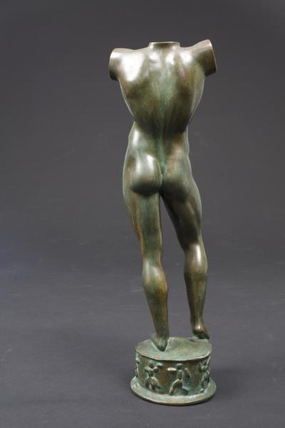 SUN SINGER (TORSO), 1926 Bronze 12 7/8 x 4 x 3 3/4...