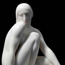 SEATED NUDE (also YOUNG VIRGIN)