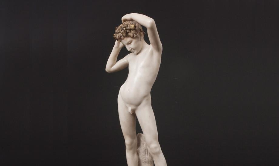 Attilio Piccirilli (1866-1945), YOUNG FAUN, modele...