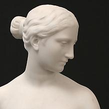 BUST OF THE GREEK SLAVE, modeled c. 1845-46